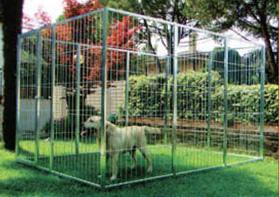 Recinzioni modulari per cani